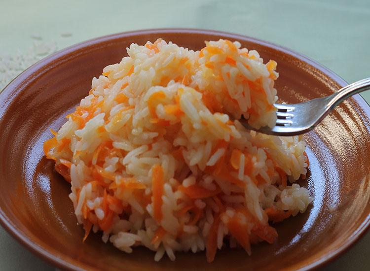 אורז עם גזר