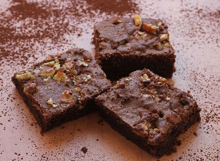 בראוניז שוקולד פרווה