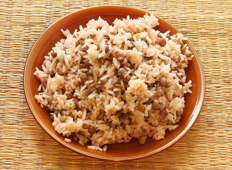 מג'דרה- אורז עם עדשים