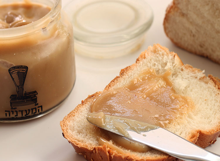 ממרח חלבה ביתית