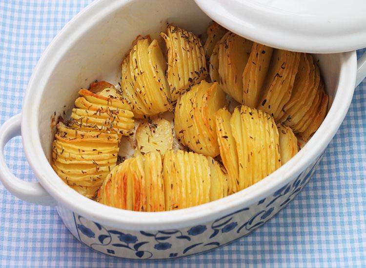 מניפות תפואד בתנור