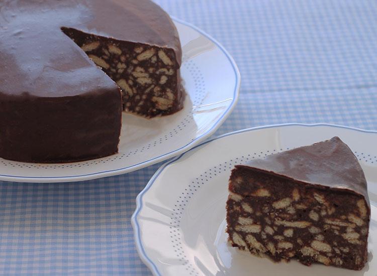 עוגת שוקולד ביסקויטים של הנסיך