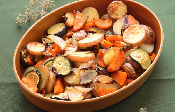 ירקות אפוים בתנור