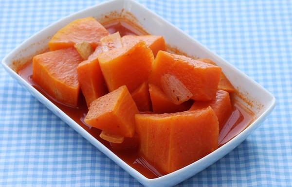 דלעת ברוטב עגבניות