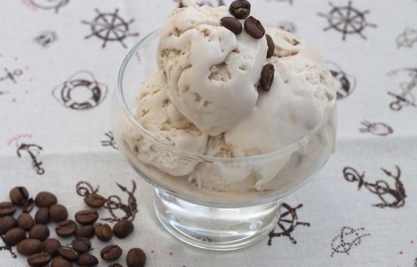 גלידת קפה ללא מכונה